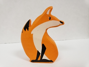 WOOD ANIMAL: FOX