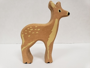 WOOD ANIMAL: FALLOW DEER