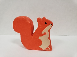 WOOD ANIMAL: RED SQUIRREL