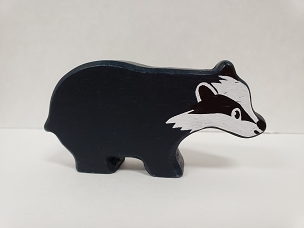 WOOD ANIMAL: BADGER