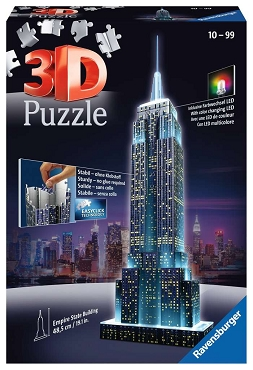 RAVENSBURGER: 3D EMPIRE STATE BUILDING NIGHT EDITION