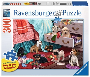 RAVENSBURGER: MISCHIEF MAKERS 300pc Lrg Pc