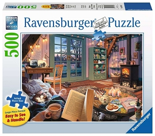 RAVENSBURGER: COZY RETREAT 500pc Lrg Pc