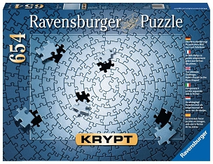 RAVENSBURGER: KRYPT SILVER 654pc PUZZLE