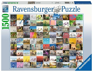 RAVENSBURGER: 99 BICYCLES AND MORE 1500pc