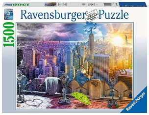 RAVENSBURGER: SEASONS OF NEW YORK 1500pc