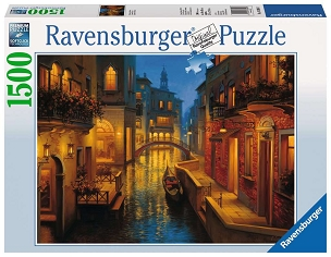 RAVENSBURGER: WATERS OF VENICE 1500pc