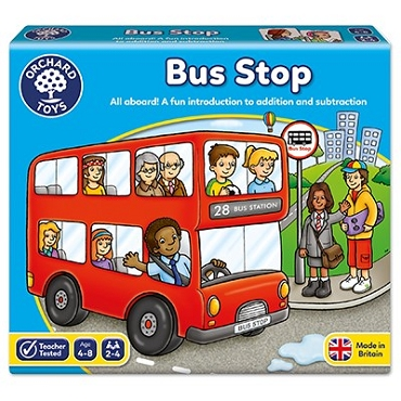 BUS STOP ADD & SUBTRACT GAME