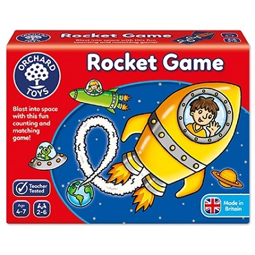 ROCKET COUNTING & MATCHING GAME