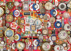 COBBLE HILL: TIMEPIECES 1000pc