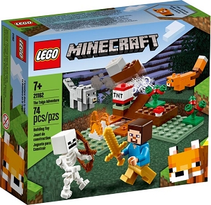LEGO® MINECRAFT™: TAIGA ADVENTURE 21162