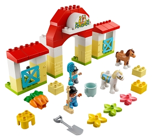 LEGO® DUPLO®: HORSE STABLE & PONY CARE 65pcs 10951