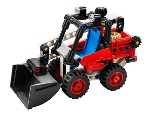 LEGO® TECHNIC™: SKID STEER LOADER 140pcs 42116