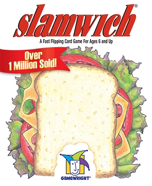 GAMEWRIGHT: SLAMWICH CARD GAME </br>Age 6+ | 2-6 Players