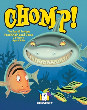 GAMEWRIGHT: CHOMP! </br>Age 6+ | 2-5 Players