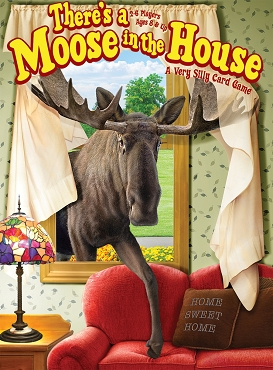 GAMEWRIGHT: THERE'S A MOOSE IN THE HOUSE </br>Age 8+ | 2-5 Players