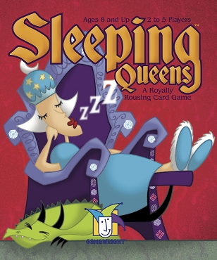 GAMEWRIGHT: SLEEPING QUEENS GAME </br>Age 8+ | 2-5 Players