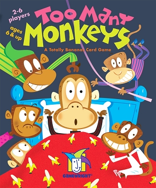 GAMEWRIGHT: TOO MANY MONKEYS </br>Age 6+ | 2-6 Players