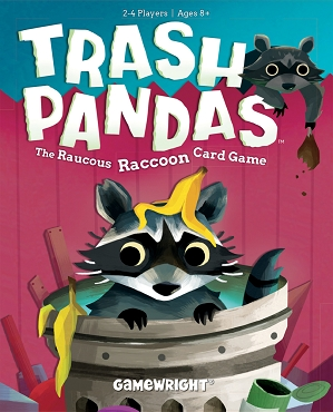GAMEWRIGHT: TRASH PANDAS </br>Age 8+ | 2-4 Players