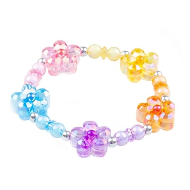 GREAT PRETENDERS: FLOWER RAINBOW POWER BRACELET 84015
