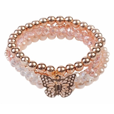 GREAT PRETENDERS: BLUSH CRUSH BRACELET 84085
