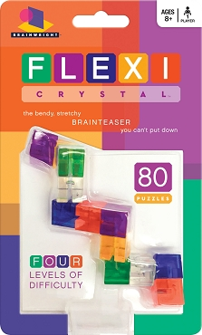 BRAINWRIGHT: FLEXI CRYSTAL PUZZLE; Age 8+