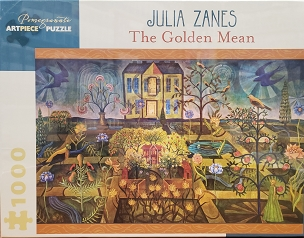 POMEGRANATE: THE GOLDEN MEAN by J. ZANES 1000pc