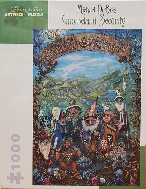 POMEGRANATE: GNOMELAND SECURITY by M. DUBOIS 1000pc